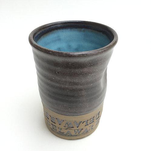 Delaware Ohio Tumbler (espresso and milky blue)