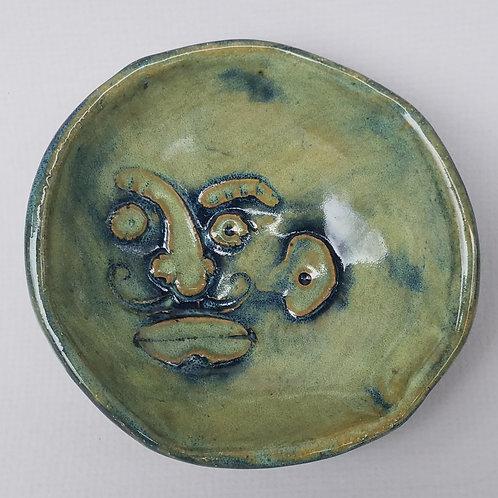 Little Face Bowl (green)
