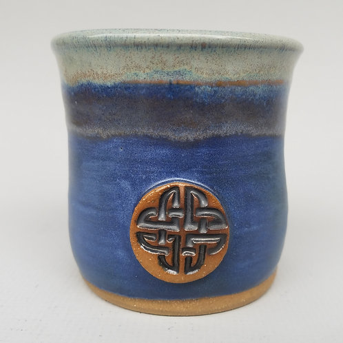 Short Tumbler with Celtic Stamp