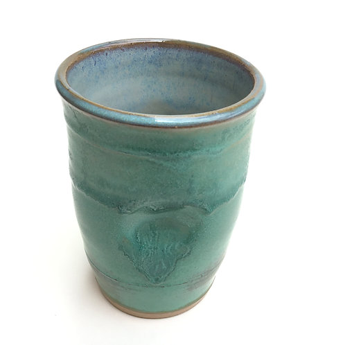 Tumbler (aged green copper)