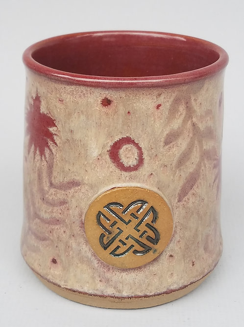 Tumbler with Celtic Stamp