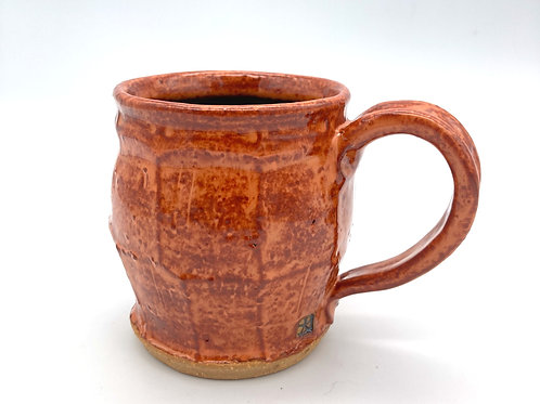Mug (rusty orange and tobacco)