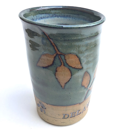 Delaware Ohio Tumbler (vintage blue grey)