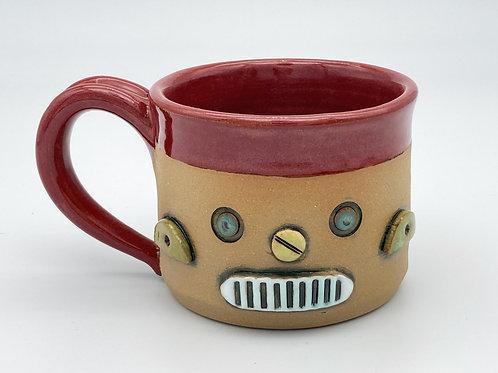 Robot Cup (dark red)