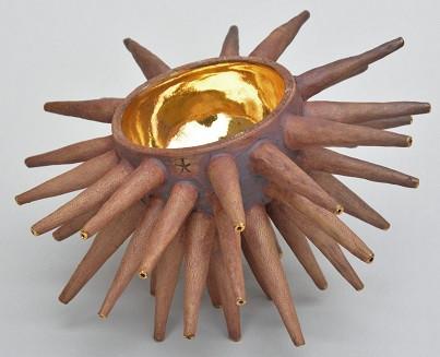 Gold Cup- Ceramic Sculpture