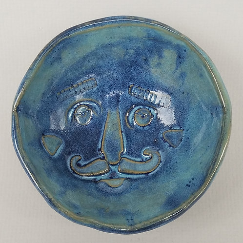Little Face Bowl (blue)