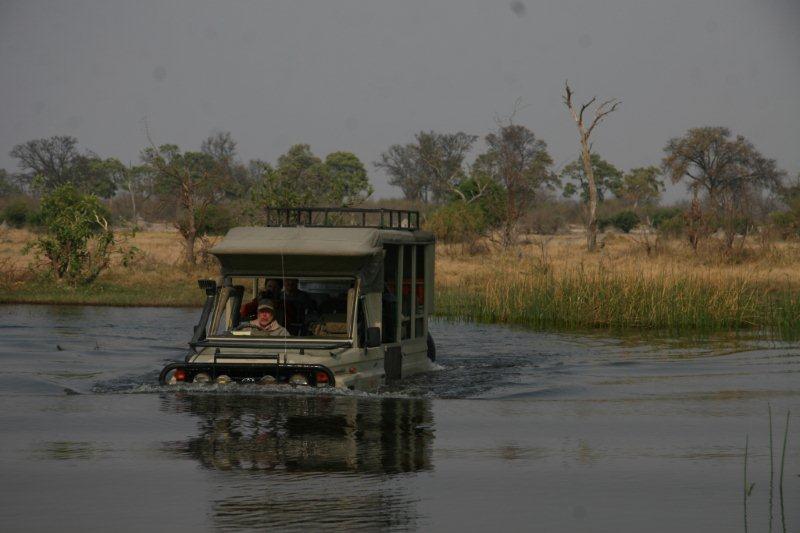 Okavango Delta driving