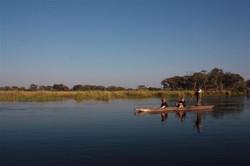 Pride of Africa mekoro safari