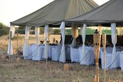 Botswana luxury camping