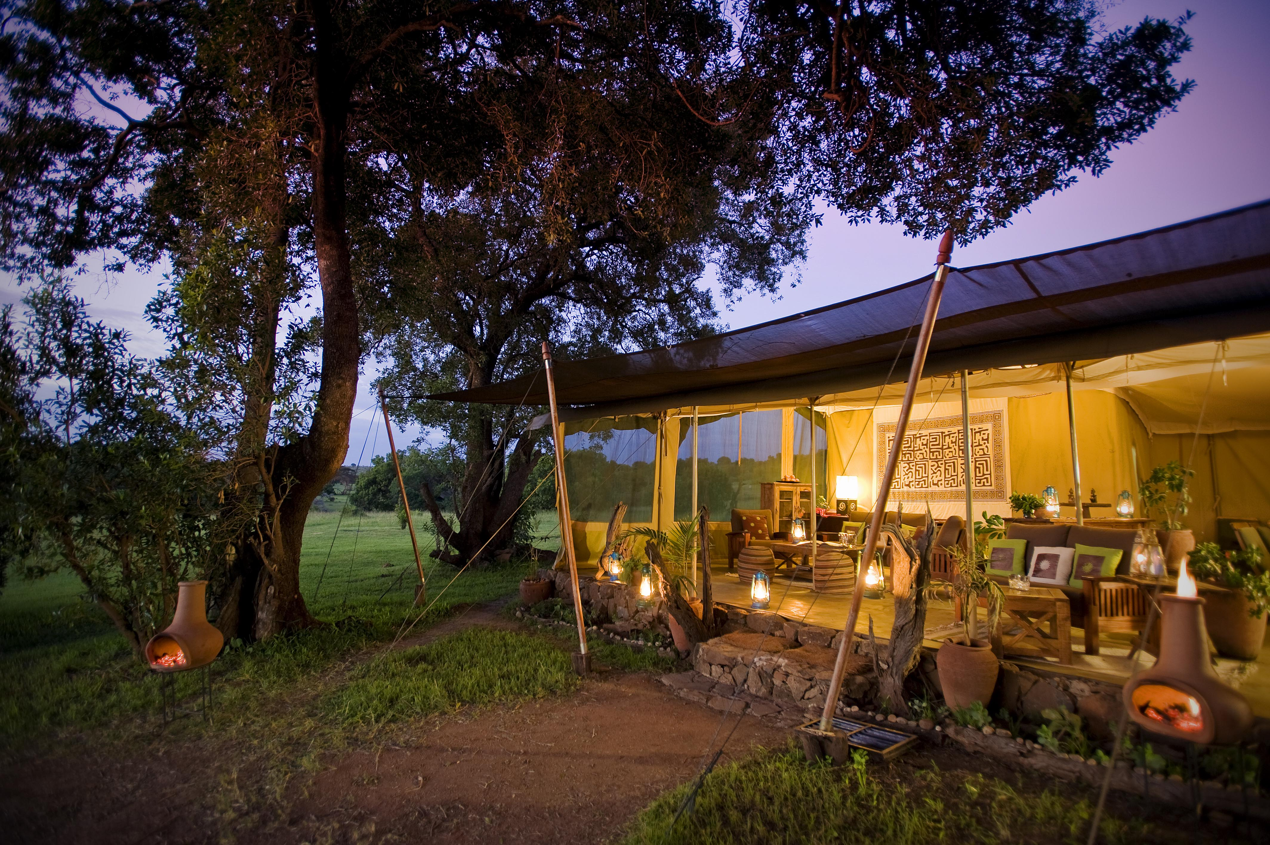 Mara Camp Main Tent