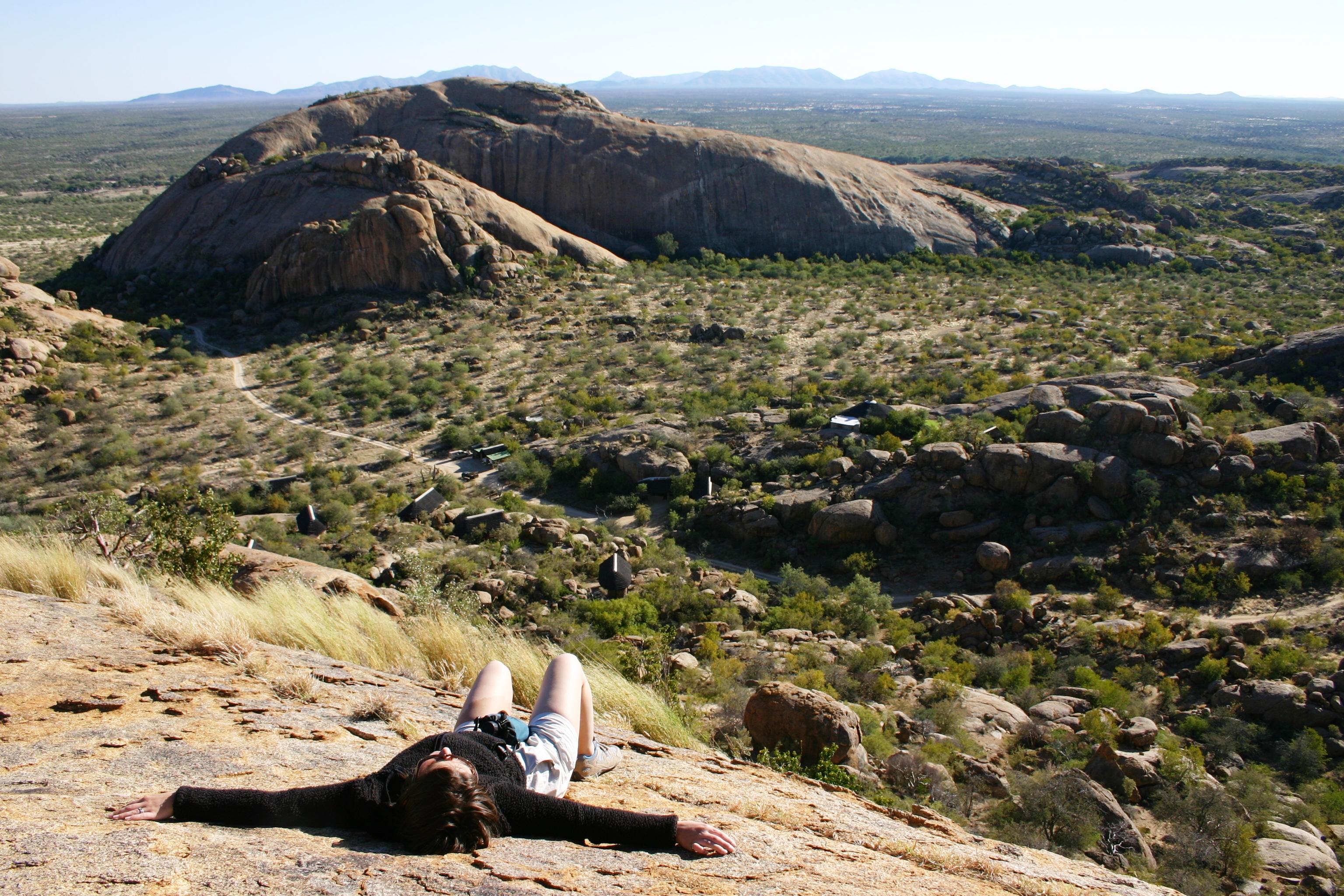 Erongo mountain siesta