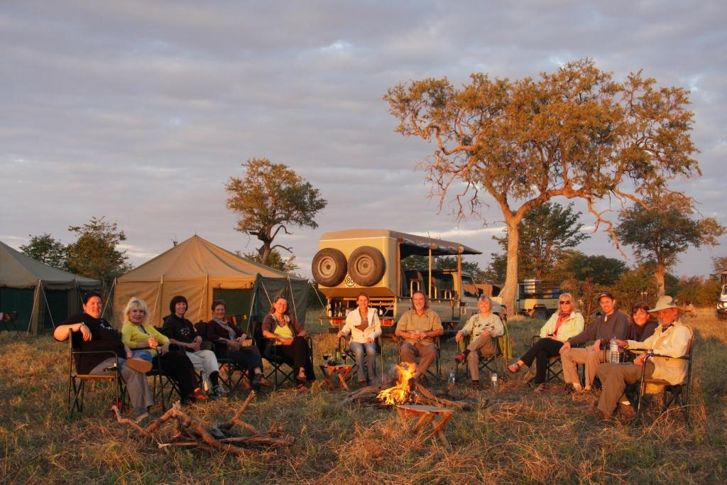 Botswana standard camping