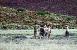 Guided walking in the Kunene Region