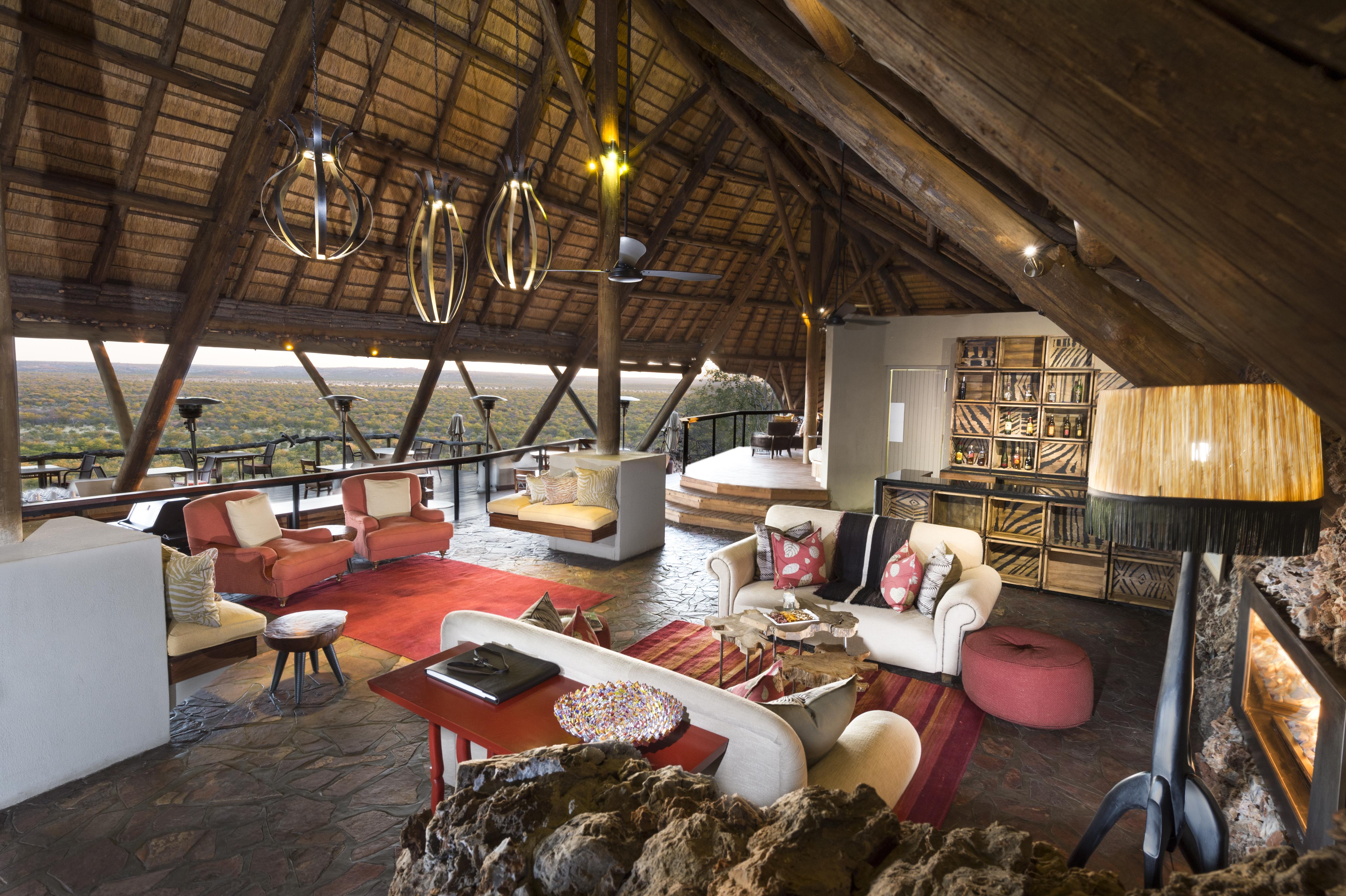 Ongava Lodge Main Area