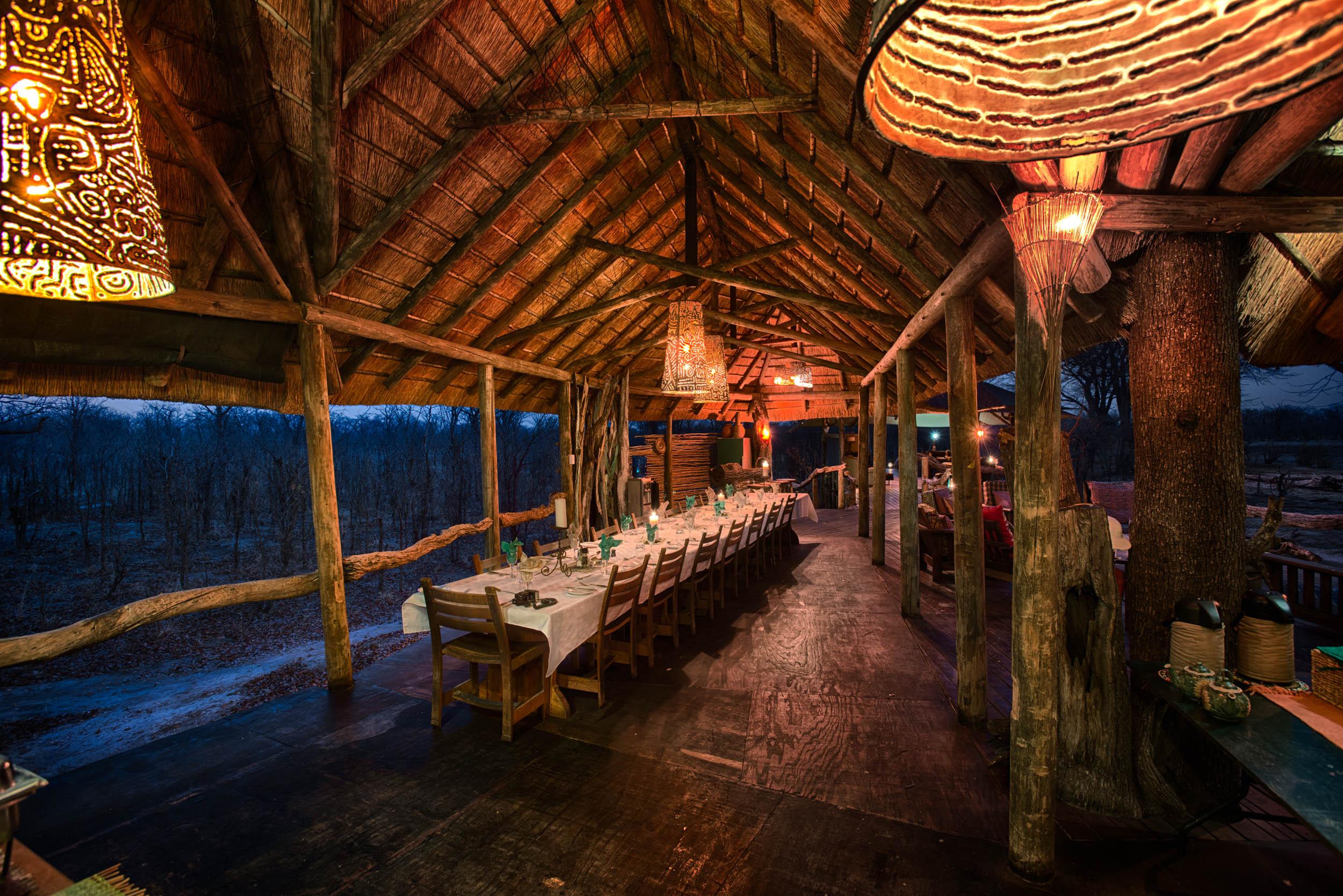 Hyena Pan Dining Area