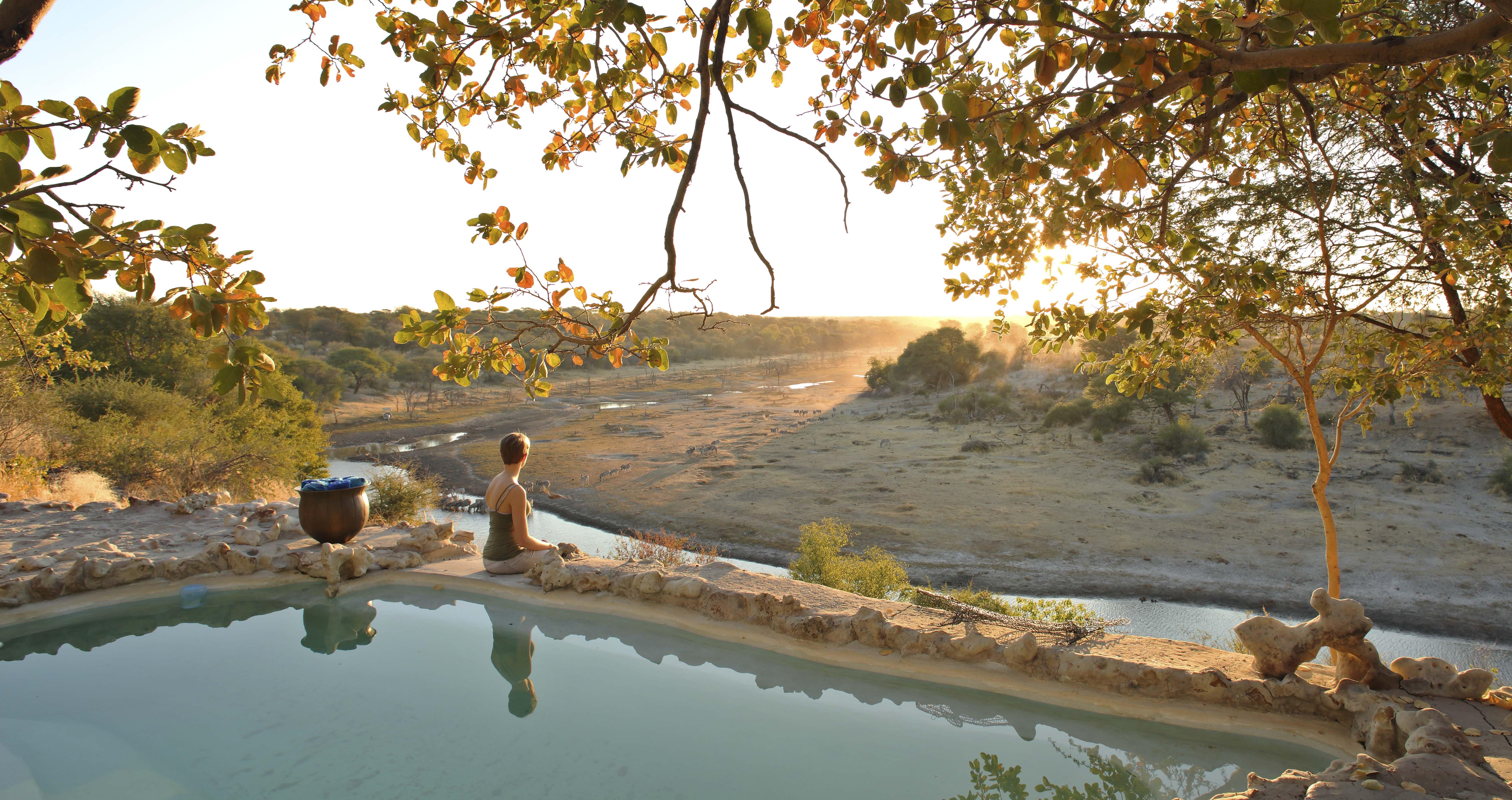 Meno a Kwena Pool View
