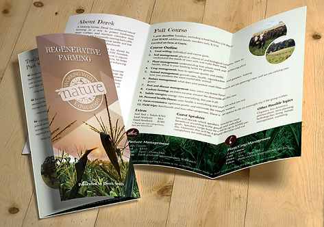 WWN Education - Tri-fold Brochure MOCKUP