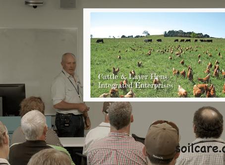 Derek asked to speak at the Australian Biological Farming Conference 2018