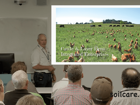 Derek asked to speak at the Australian Biological Farming Conference 2018