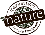 Working with Nature Logo Farming Enterpr