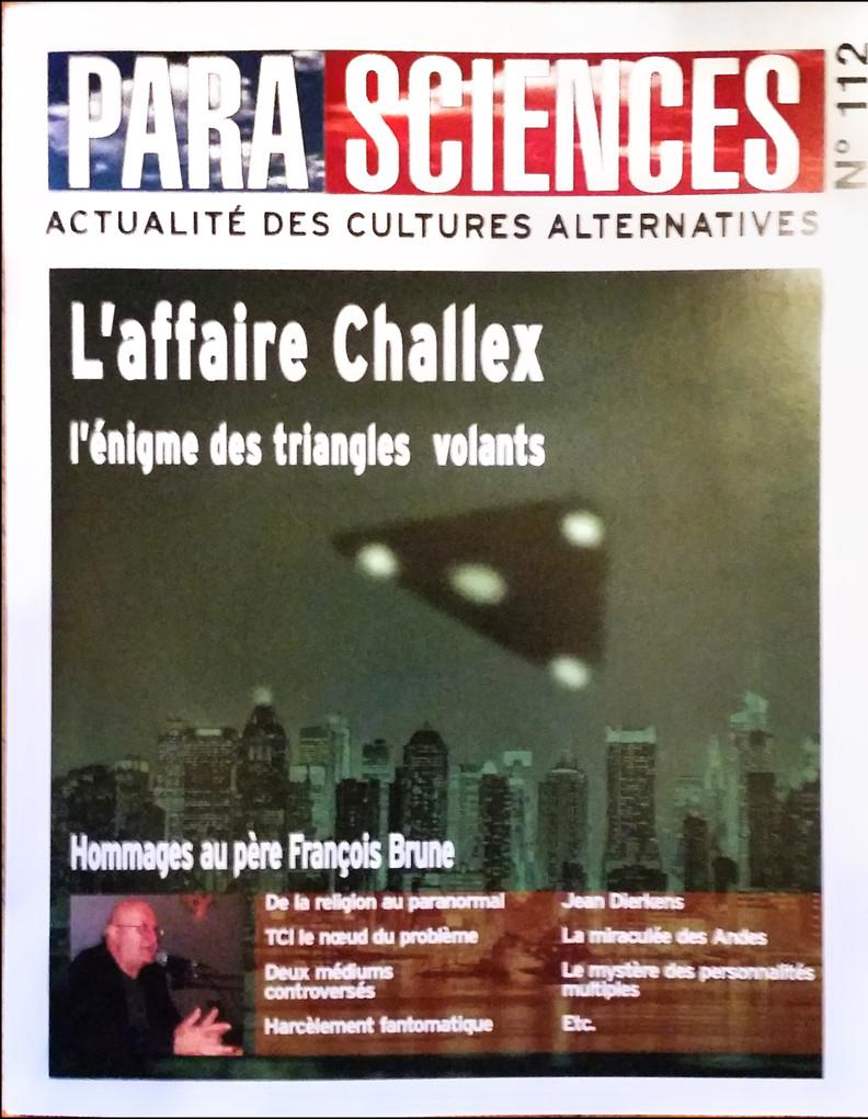 Magazine Parasciences du mois de Mai 2019