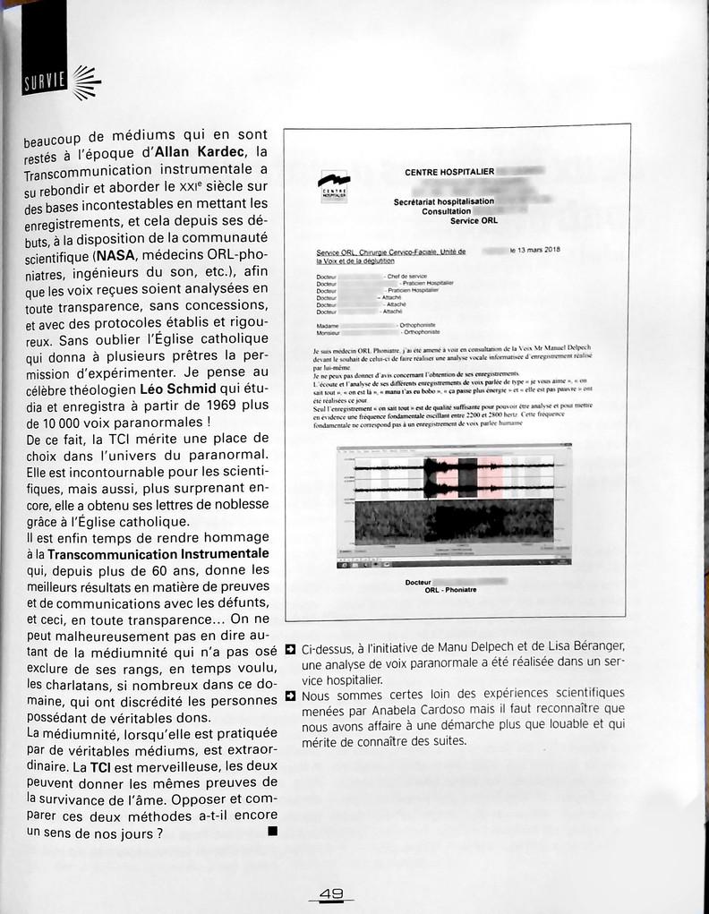 Page 3 Article de Manu Delpech