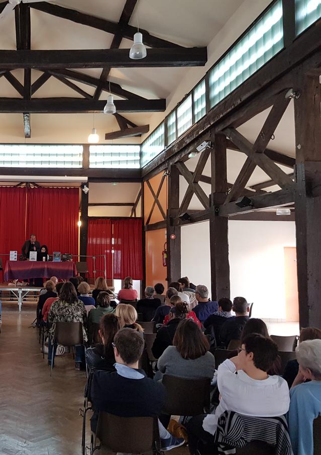 """Conférence à Essoyes à l'Association """"Ailes & Sébastien"""""""