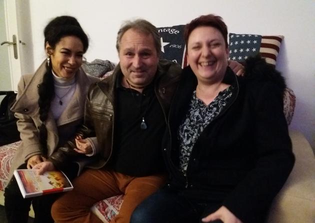 Lisa Béranger, Manu Delpech et Christell