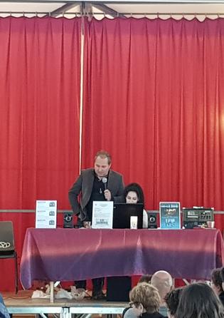 """Conférence à Essoyes à l'Association """"Ailes & Sébastien"""" 2018"""