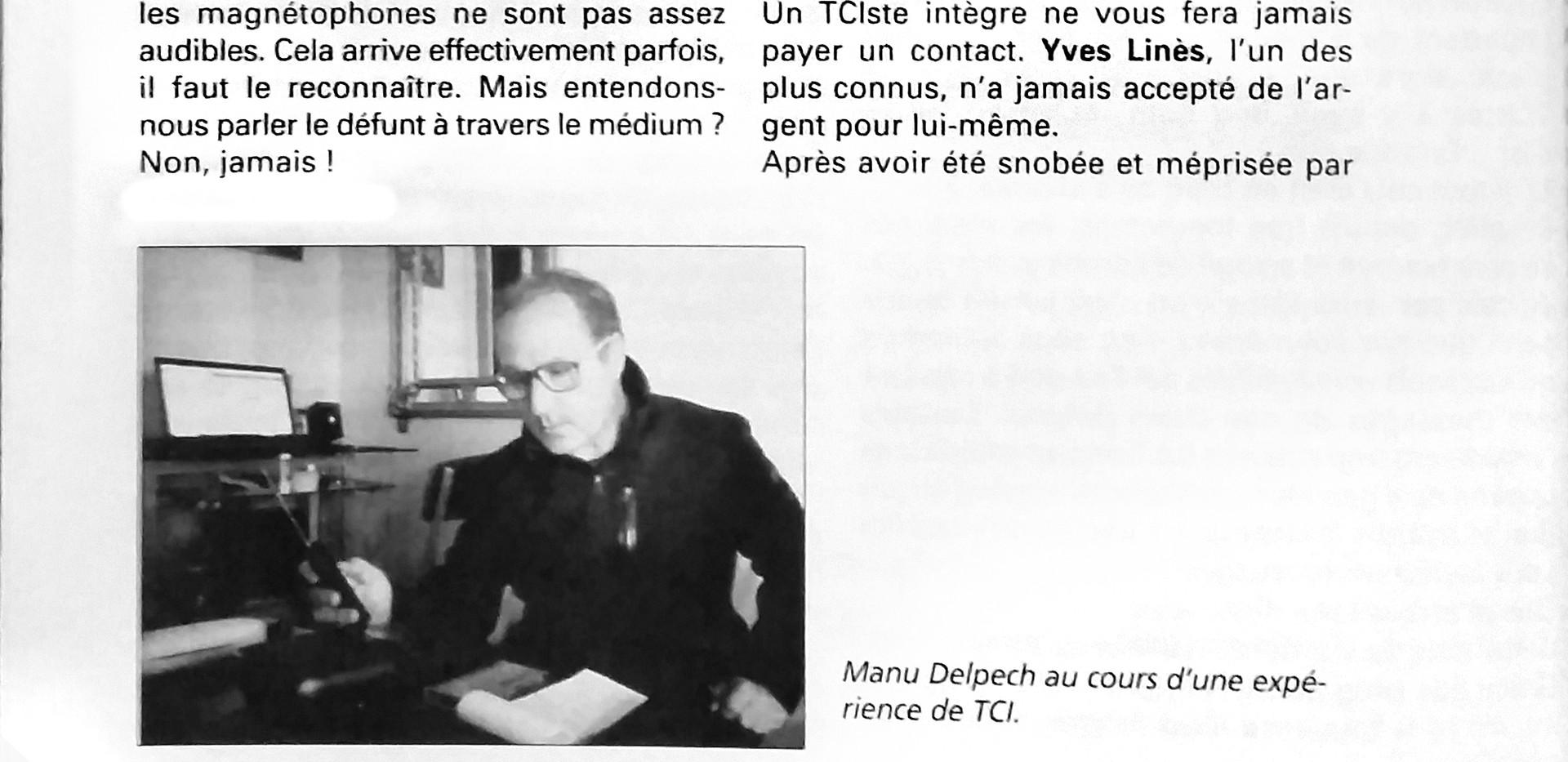 Page 2 Article de Manu Delpech