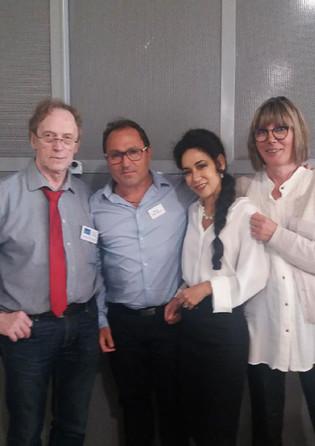 Yves Linès, Manu Delpech, Lisa Béranger
