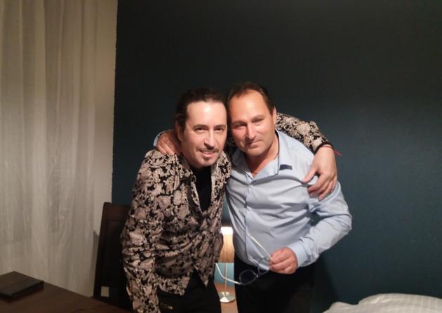Henry Vignaud et Manu Delpech