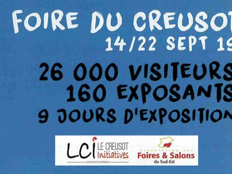 Et on enchaîne sur Le Creusot, du 14 au 22 septembre !