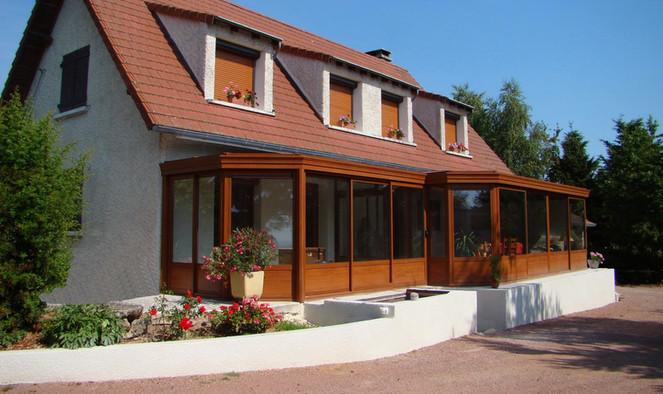 acp, verandas multi pans à St Germain Laval 42