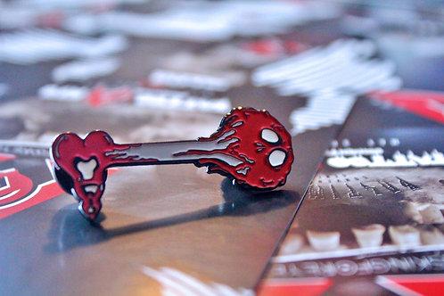 Poison Key Enamel Pin
