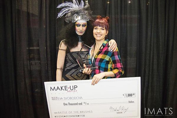 IMATS Vancouver 2015 winner