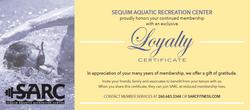 Sequim Aquatic Rec Center flyer