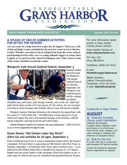 Grays Harbor Newsletter