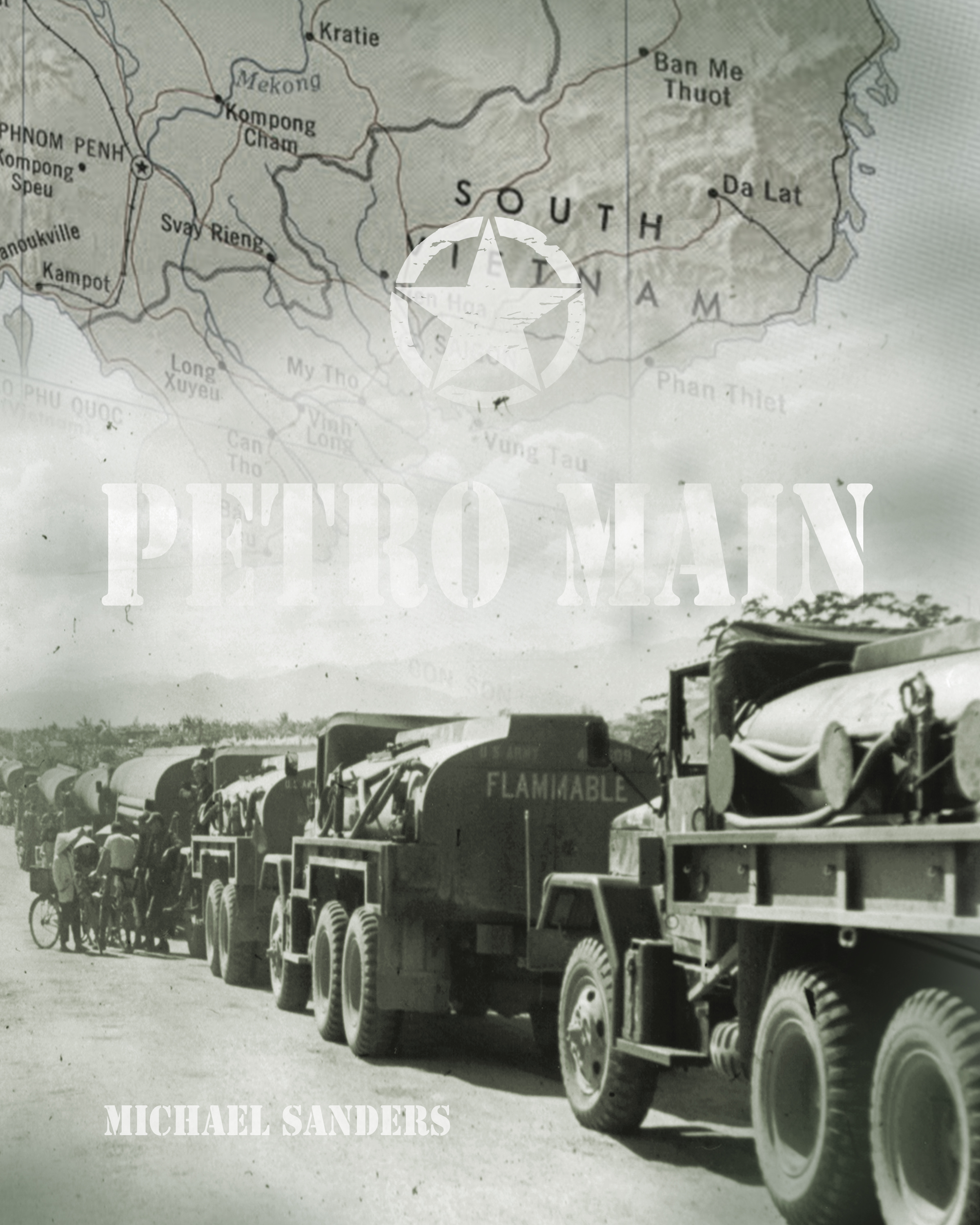 Petro Main book cover design