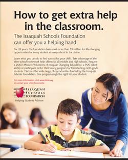 Issaquah School brochure