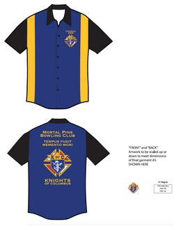 Bowling Shirt design