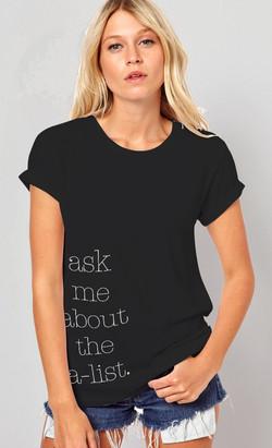 A-List Branding shirt design