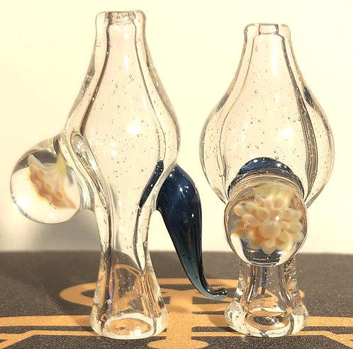 Changeling Glassworks Implosion Flower Cap