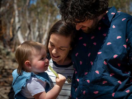 Mount Gladstone Family Portrait fun-ness with the Drury Family