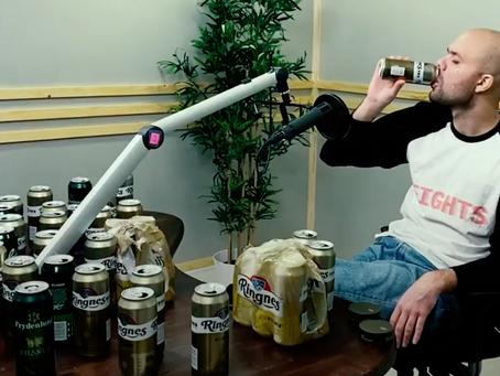 Lars Berrum med høy bokseføring i ny musikkvideo