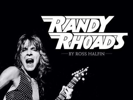 Randy Rhoads fotobok på vei