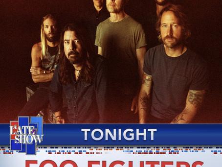 "Foo Fighters Med ""Shame, Shame"" hos Colbert"