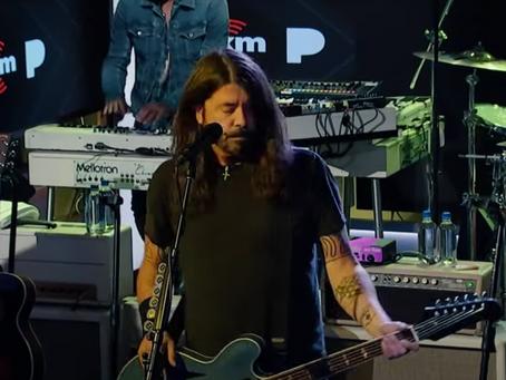 Foo Fighters fremfører ny låt