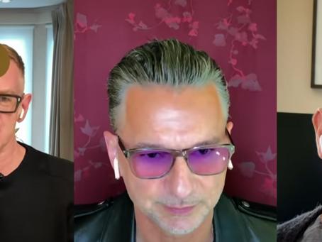 Takketale fra Depeche Mode