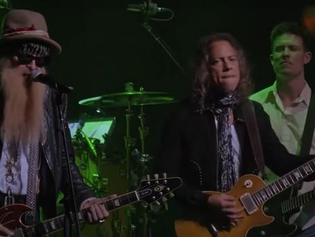 Gibbons og Hammett covrer Fleetwood Mac